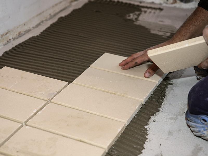 Giaretta pavimenti posa delle piastrelle